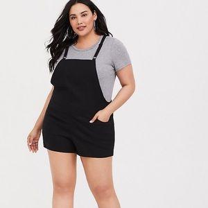 Torrid Linen short overalls